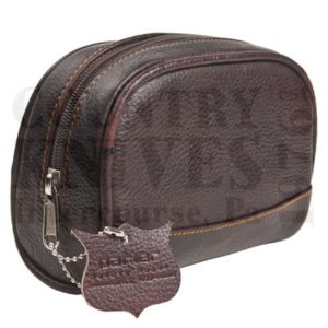 Buy Parker  PRTBSM Toiletry Bag - Small / Leather at Country Knives.