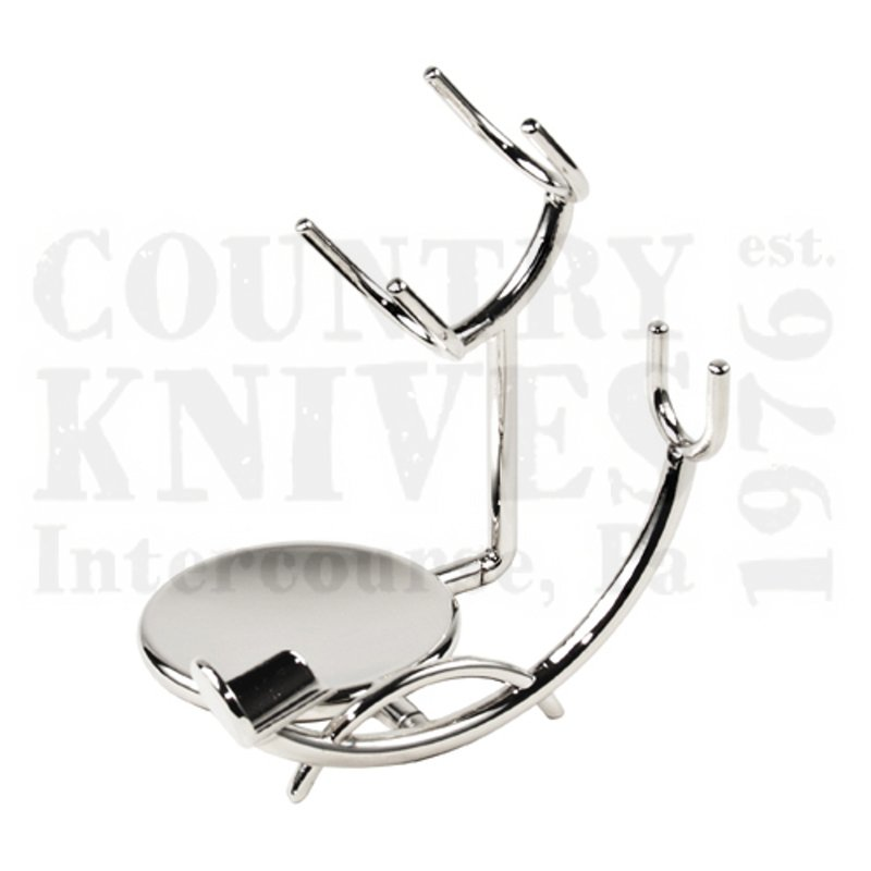 Buy Parker  PRUSS3 Deluxe Shaving Stand - Reclined / Chrome at Country Knives.