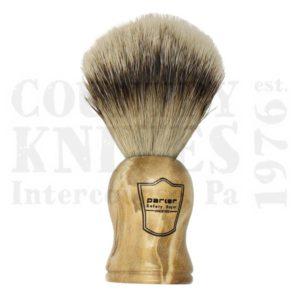 ParkerWHSTShaving Brush – Burl Wood / Silver Tip