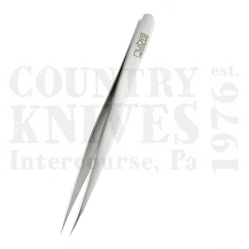 Buy Rubis  RU1K002-95 3¾'' Pointed Tweezers - Stainless at Country Knives.