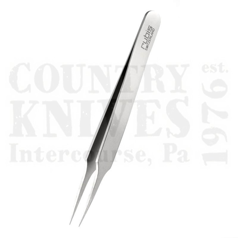 Buy Rubis  RU1K920 3¾'' Needlepoint Tweezers - Stainless at Country Knives.