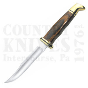 Buy Buck  BU102BR Woodsman - Cocobolo / Brass at Country Knives.