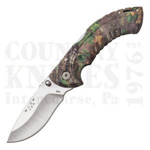Buy Buck  BU395CMS20 Omni Folding Hunter - Small Drop Point / Realtree Xtra Green Camouflage at Country Knives.