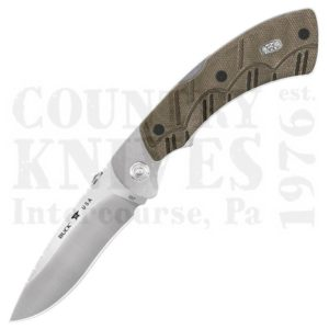 Buy Buck  BU557ODS Open Season Folding Skinner - S30V / OD Green Micarta at Country Knives.
