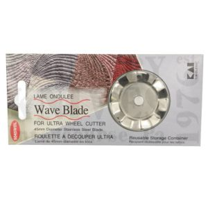 Buy Kai Shears  K5045WBL 45mm Rotary Blade - Wavy at Country Knives.