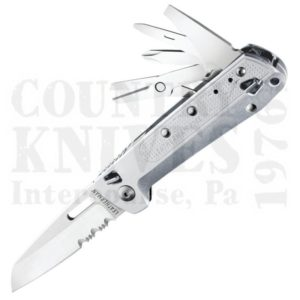 Buy Leatherman  LT832660 Free K4X - 9 Tools – Silver Anodized Aluminum at Country Knives.