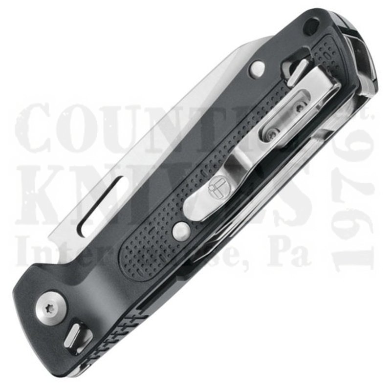 Leatherman 832664 Free K4 9 Tools Gray Anodized Aluminum