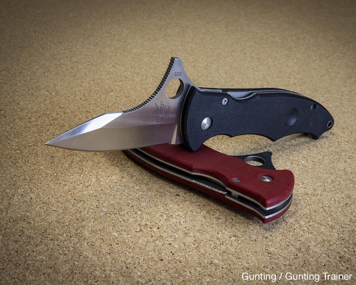 Spyderco knife compression lock