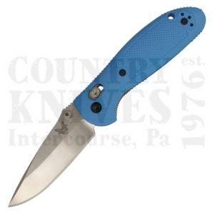 Buy Benchmade  BM556BLU-S30V Mini-Griptilian - Blue / Plain Edge at Country Knives.