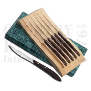 Buy Dexter-Russell  DR20111 Six Piece Steak Knife Set - Brown at Country Knives.