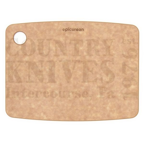 """Buy Epicurean Cutting Surfaces  EP080601 Kitchen Series Cutting Board - Natural / 8"""" x 6"""" x ¼"""" at Country Knives."""