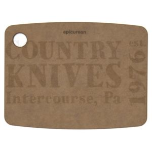"Buy Epicurean Cutting Surfaces  EP080603 Kitchen Series Cutting Board - Nutmeg / 8"" x 6"" x ¼"" at Country Knives."