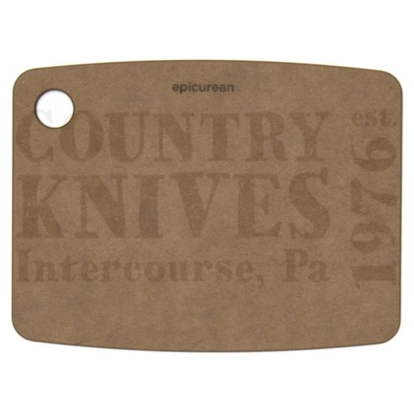 """Buy Epicurean Cutting Surfaces  EP080603 Kitchen Series Cutting Board - Nutmeg / 8"""" x 6"""" x ¼"""" at Country Knives."""