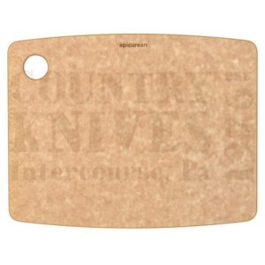"Buy Epicurean Cutting Surfaces  EP120901 Kitchen Series Cutting Board - Natural / 12"" x 9"" x ¼"" at Country Knives."