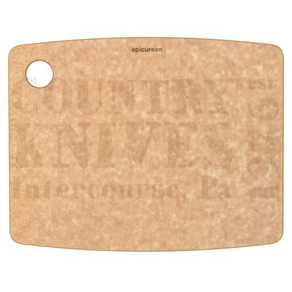 """Buy Epicurean Cutting Surfaces  EP120901 Kitchen Series Cutting Board - Natural / 12"""" x 9"""" x ¼"""" at Country Knives."""