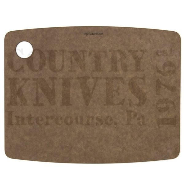 """Buy Epicurean Cutting Surfaces  EP120903 Kitchen Series Cutting Board - Nutmeg / 12"""" x 9"""" x ¼"""" at Country Knives."""