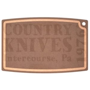 "Buy Epicurean Cutting Surfaces  EP27180301 Gourmet Series Cutting Board - Nutmeg / 27"" x 17½"" x ⅜"" at Country Knives."