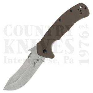 Kershaw6031D2Emerson CQC-11K – D2 / Brown G-10