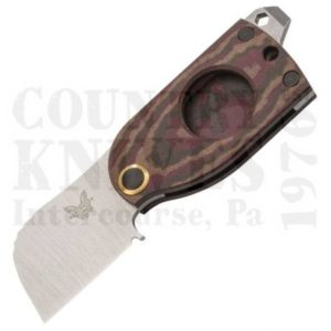Buy Benchmade  BM381 Aller - Chocolate/Brown/Red Richlite at Country Knives.