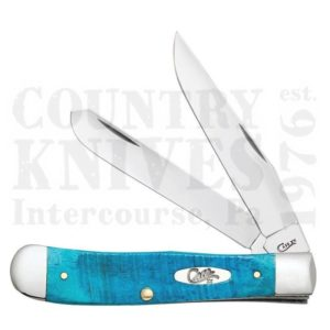 Buy Case  CA25592 Trapper - Caribbean Blue at Country Knives.