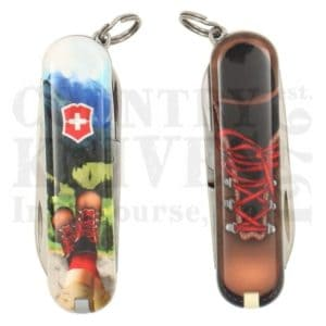 Buy Victorinox Swiss Army 0.6223.L2002 Classic SD 2020 - I Love Hiking at Country Knives.