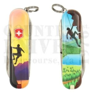 Buy Victorinox Swiss Army 0.6223.L2004 Classic SD 2020 - Climb High at Country Knives.