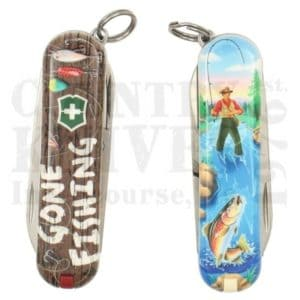 Buy Victorinox Swiss Army 0.6223.L2005 Classic SD 2020 - Gone Fishing at Country Knives.