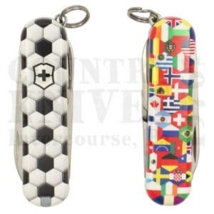 Buy Victorinox Swiss Army 0.6223.L2007 Classic SD 2020 - World of Soccer at Country Knives.