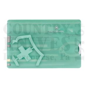 Buy Victorinox Swiss Army 0.7145.T SwissCard - Fresh Energy – Mint Green at Country Knives.