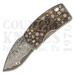 Buy G. Sakai  GS11609 Ukimon - Floral Sakura at Country Knives.