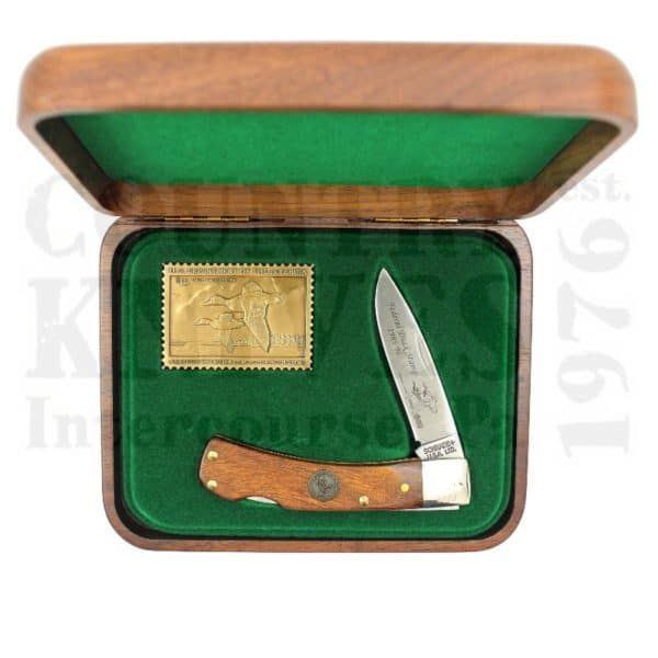 Buy Schrade  SCDS1995-96 Federal Duck Stamp - Walnut Display Box at Country Knives.