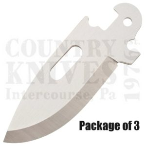 Buy Cold Steel  40AP3A Click-N-Cut - 3 Pack of Drop Point Blades at Country Knives.