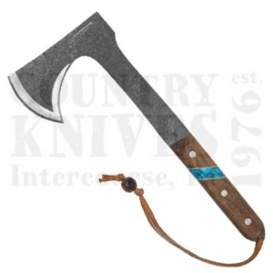 Buy Condor Tool & Knife  CTK2826-HC Blue River Tomahawk - Walnut / Turquoise at Country Knives.
