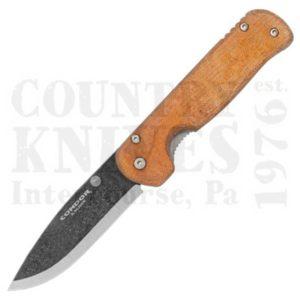 Buy Condor Tool & Knife  CTK3938-4.27HC Krakatoa Folder - Desert Brown Micarta at Country Knives.
