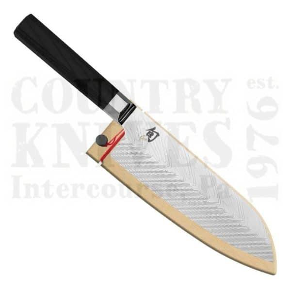 """Buy Kai  KVG0021 7"""" Santoku - Shun Dual-Core at Country Knives."""