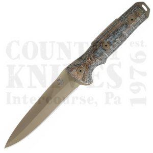 Buck891BRS1GCK Spearpoint – 5160 / Coyote Tan Cerakote