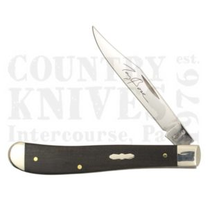 Buy Case  CA10674 Slimline Trapper - Ebony at Country Knives.