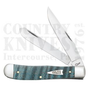 Buy Case  CA23360 Trapper - Turquoise Curly Maple at Country Knives.