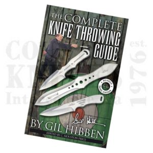 Buy United Cutlery  CKTG The Complete Knife Throwing Guide - by Gil Hibben at Country Knives.