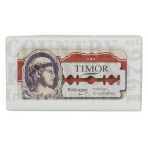 Timor904Double Edged Blades – Teflon / 10 Pack