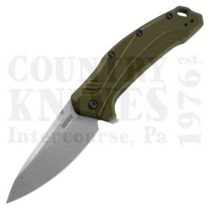 Buy Kershaw  K1776OLSW Link - 20CV / Olive Aluminum at Country Knives.