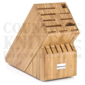 Buy Wüsthof-Trident  WT2267-5 Knife Block - Bamboo / 17 Slot at Country Knives.