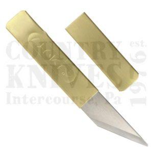 Buy Yoshiharu  YSH01 Penanto Knife  - Brass Sheath at Country Knives.