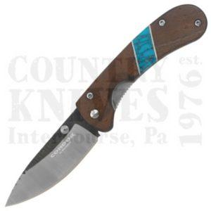 Condor Tool & KnifeCKT2828-3-4CBlue River Hunter Folder – Walnut / Turquoise