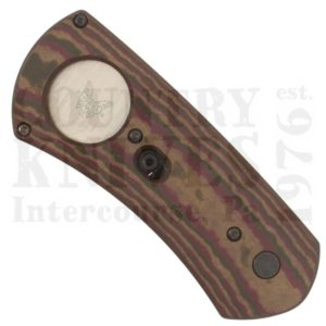 Benchmade1500Cigar Cutter – Chocolate/Brown/Red Richlite