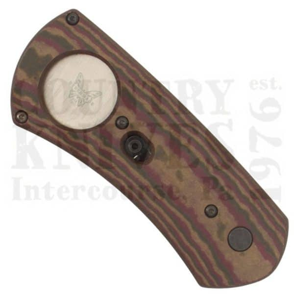 Buy Benchmade  BM1500 Cigar Cutter - Chocolate/Brown/Red Richlite at Country Knives.