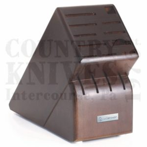 Buy Wüsthof-Trident  WT7265-3 Knife Block - Walnut / 15 Slot at Country Knives.