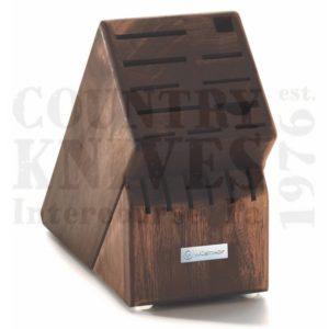 Buy Wüsthof-Trident  WT7267-3 Knife Block - Walnut / 17 Slot at Country Knives.