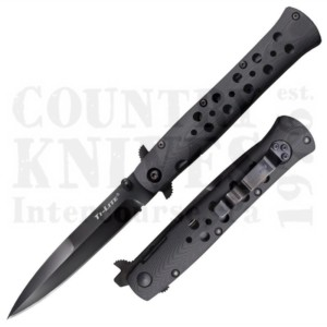 """Buy Cold Steel  26C4 4"""" Ti-Lite - S35VN / Black G-10 at Country Knives."""