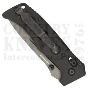 Buy Benchmade  BM273GY-1 Mini Adamas - Black G-10 / Cru-Wear / Tungsten Grey Cerakote at Country Knives.